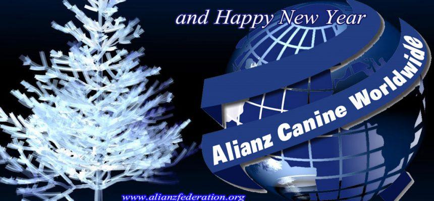 Alianz Canine Worldwide ACW wish you Merry Christmas
