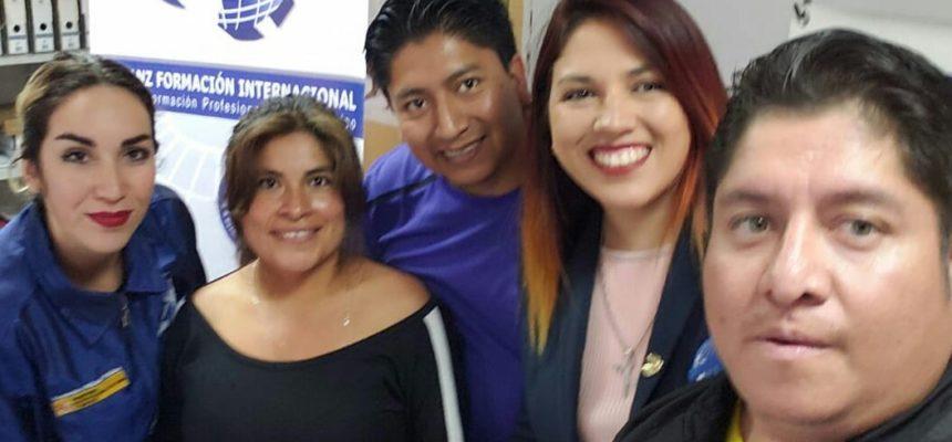 Alumnos Alianz Ecuador y Alianz Argentina de Peluquería Canina con Beca Alianz 2018 viajan a España para recibir su formación