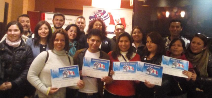 """Alianz Perú celebró Cena- Conferencia """"El éxito en tus manos"""" por la presidenta Alianz Canine Worldwide María Eugenia Ribelles"""