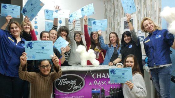 Model Dog ACW Grooming . Éxito en el Primer Seminario Model Dog Alianz ACW en España