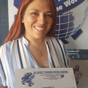 Embajadora ACW Grooming Latinoamérica Anahí Masso