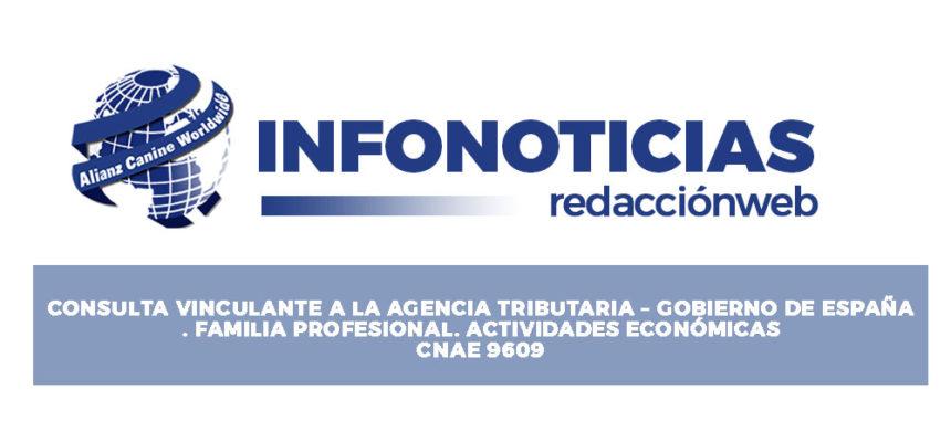 Consulta vinculante a la agencia Vinculante Tributaria- Gobierno de España