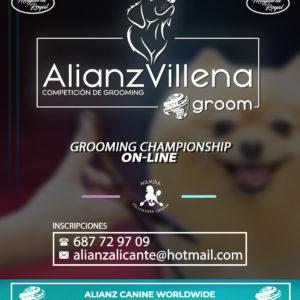 COMPETENCIA DE PELUQUERÍA CANINA «ALIANZVILLENA GROOM»