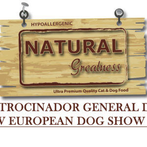 NATURAL GREATNESS SERÁ EL PATROCINADOR GENERAL DEL ACW EUROEAN DOG SHOW 2018