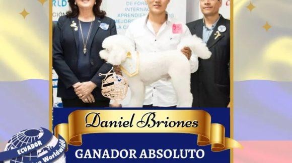 Ganador de la Copa Grooming Alianz Canine Worldwide Ecuador 2019
