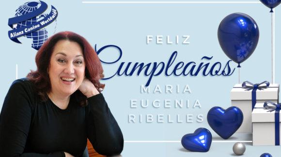 Feliz Cumpleaños Maria Eugenia Ribelles